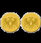 2 x die Auszeichnung Goldmedaille